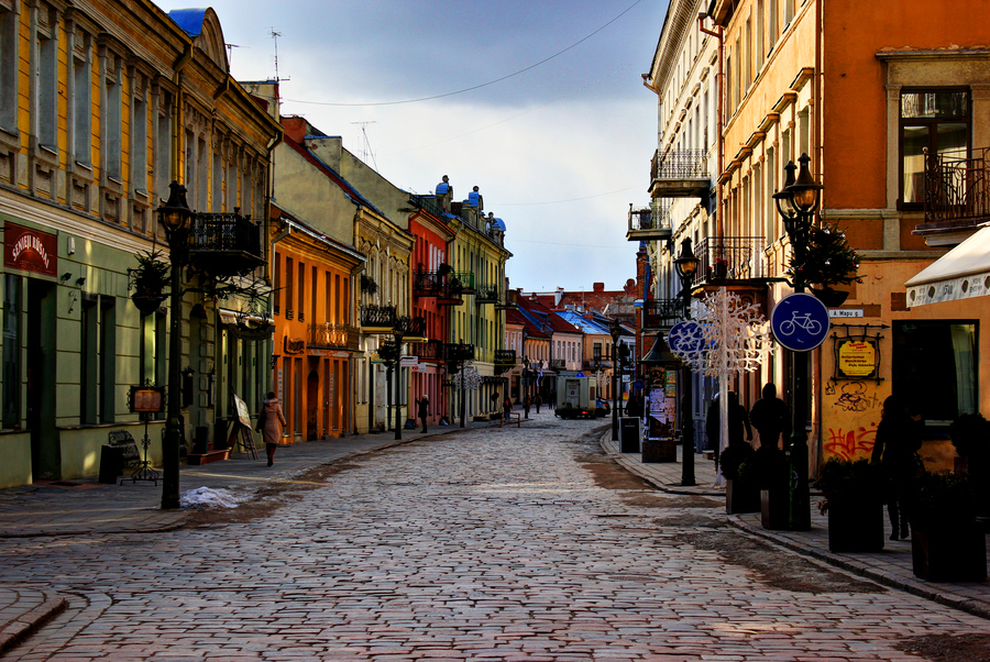 Kaunas Lithuania  City new picture : Old Town Kaunas Lithuania