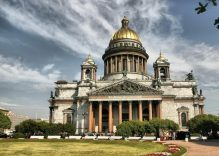 City break in St. Petersburg