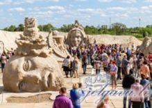 Jelgava International Sand Sculpture Festival