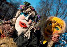Vilnius: traditional Carnival Užgavėnės