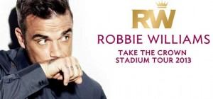 Robbie Williams tour in Tallinn