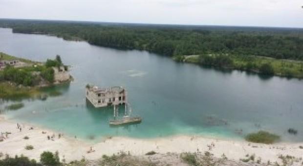 Rummu underwater prison
