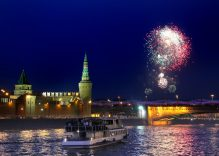 New Year in the Russian capitals