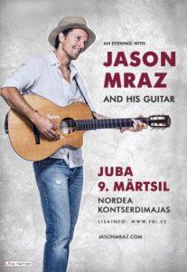 Jason Mraz in Tallinn