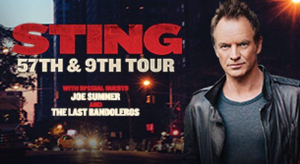 Sting in concert in Tallinn