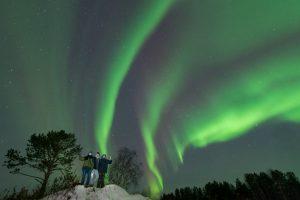 Murmansk aurora borealis