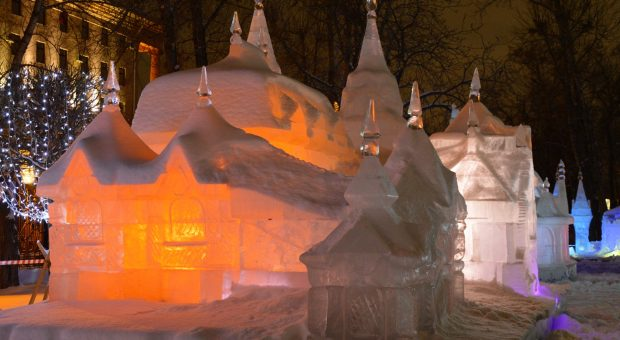 Jelgava International Ice Sculpture Festival